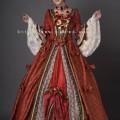 鹿鳴館風ドレス01