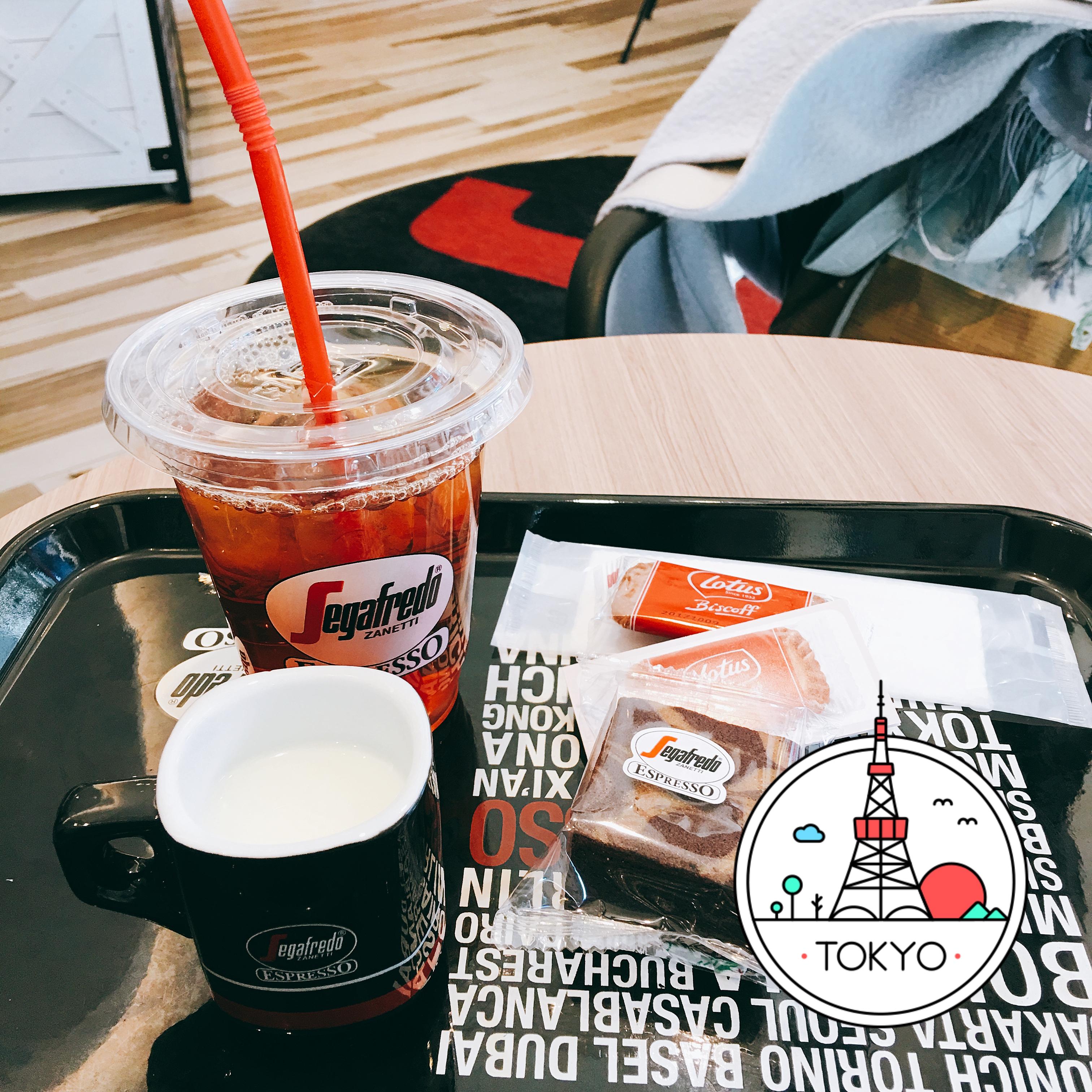 サロンの帰りにコーヒータイム