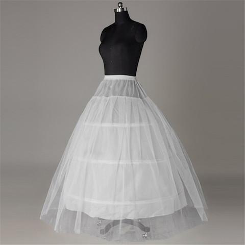 ホット販売エッジ3フープペチコート夜会服のウェディングドレス110センチ直径下着クリノリンウェディングアクセサリー